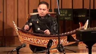 thai xylphone solo ranad ek at northern illinois university school of music