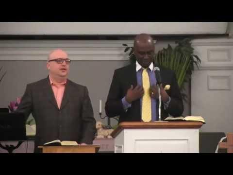 Ron Wagogo at Brazilian Church in Brockton, MA.