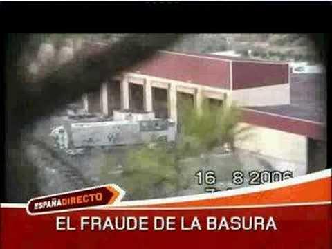 El fraude de la basura en el vertedero de Cañada Hermosa.