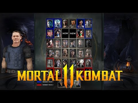 MORTAL KOMBAT  - KLASSIC CHARACTER ROSTER PREDICTION ( Characters Inc. Kombat Pack DLC&#;s)