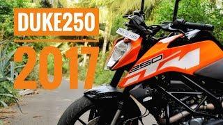 2017 KTM DUKE 250 4K