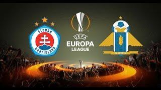Slovan Bratislava vs Pyunik full match