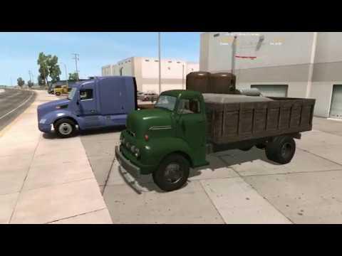 Ford F6 COE 1951 1952 - American Truck Simulator - Retro Truck Driving - Old Vintage Classic