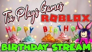 🔴 BIRTHDAY STREAM! - Jailbreak, Phantom Forces and more! - COME JOIN THE FUN !!! - #226