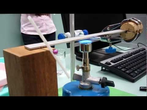 Metal expansion and contraction experiment