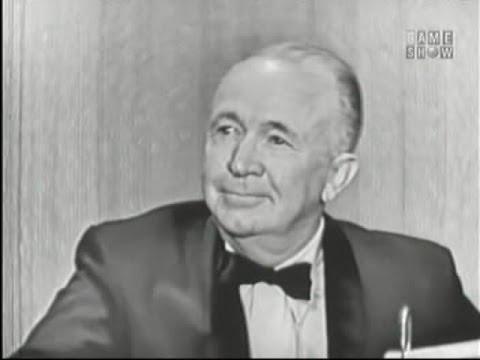 What's My Line? - Ziegfeld Girls; Walter Brennan; Adolph Menjou, Greer Garson [panel] (May 12, 1957)