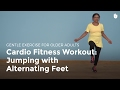 Cardio Exercise: Jumping with Alternating Feet | Exercise for Older Adults