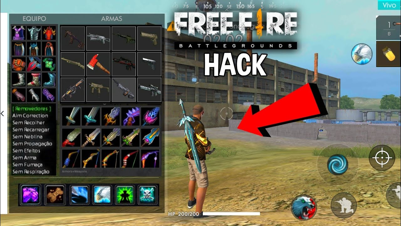 como hacer hack en free fire