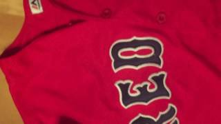Unboxing-jerseys.ru Chris sale spring training red sox jersey