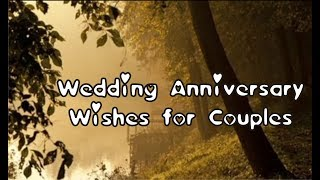 Wedding anniversary Wishes for Couples, Quotes, Messages, Greetings, Sayings Free Download