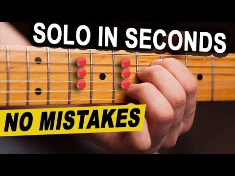 Pentatonic Box Shape Checklist (Solo in Seconds - NO Mistakes)