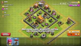 Let's Play Clash of Clans #8 Drittte Bauhütte & Rathaus 5!! [Deutsch/German] BaumMan2000