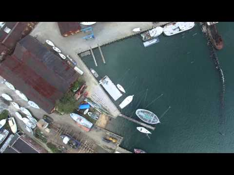 Drone footage of Greenport, N.Y., by Charlie Chalkin Productions.