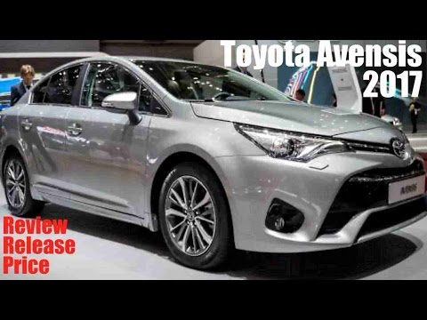 2017 toyota avensis review release price youtube. Black Bedroom Furniture Sets. Home Design Ideas