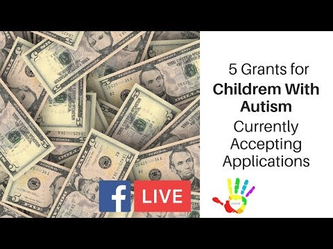 5 Grants For Children With Autism Currently Accepting Applications!