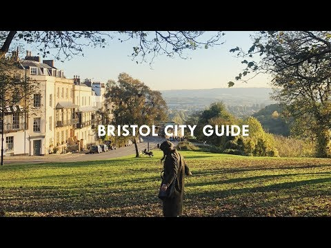 BRISTOL CITY GUIDE WITH SOUTH WESTERN RAILWAY | What Olivia Did | AD