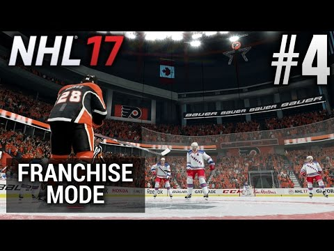 NHL 17 Franchise Mode | Sacramento Flyers | EP4 | THE NEW ARENA! (Game 1 S2)