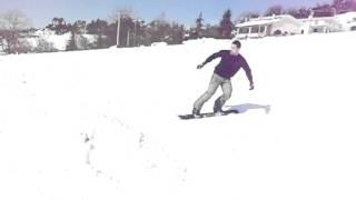 Snowboard a Rocca Priora