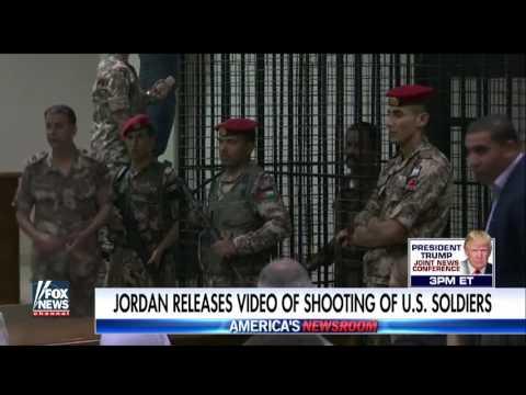 Jordan releases security video of shooting of US soldiers
