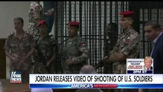 Jordan releases security video of shooting of US soldiers