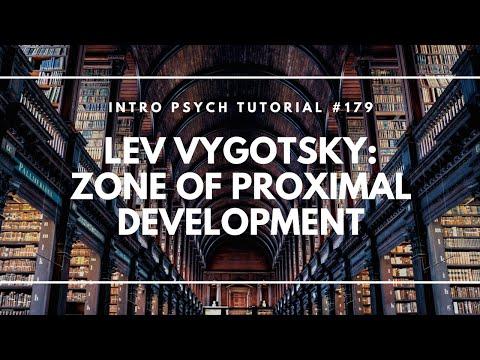 Lev Vygotsky & the Zone of Proximal Development (Intro Psych Tutorial #179)