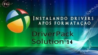 Instalando drivers facilmente após formatação - Driver Pack Solution 14
