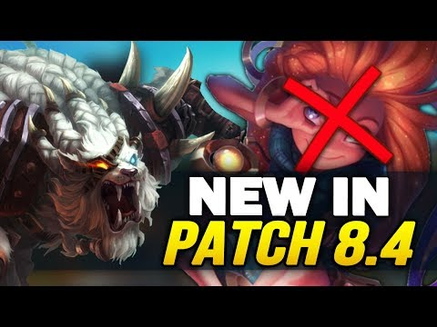 New in Patch 8.4 - Massive new changes and reworks! (League of Legends) thumbnail