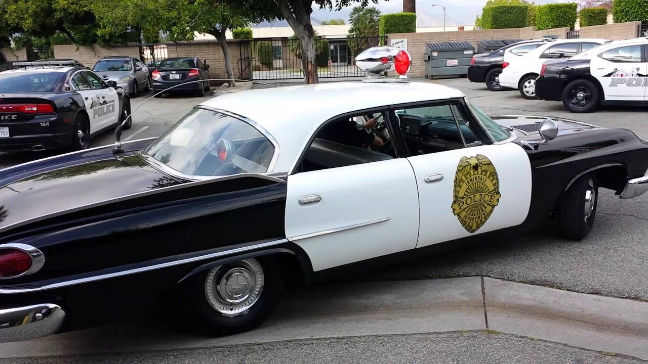 1961 Dodge Polara Police Car Youtube 4 Door Hardtop