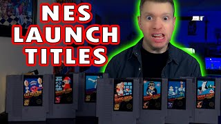 NES Nintendo LAUNCH TITLES 1985 ALL 17 Games - History & Review - The Irate Gamer
