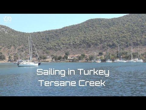 Sailing in Turkey   Tersane Creek   SeaTV