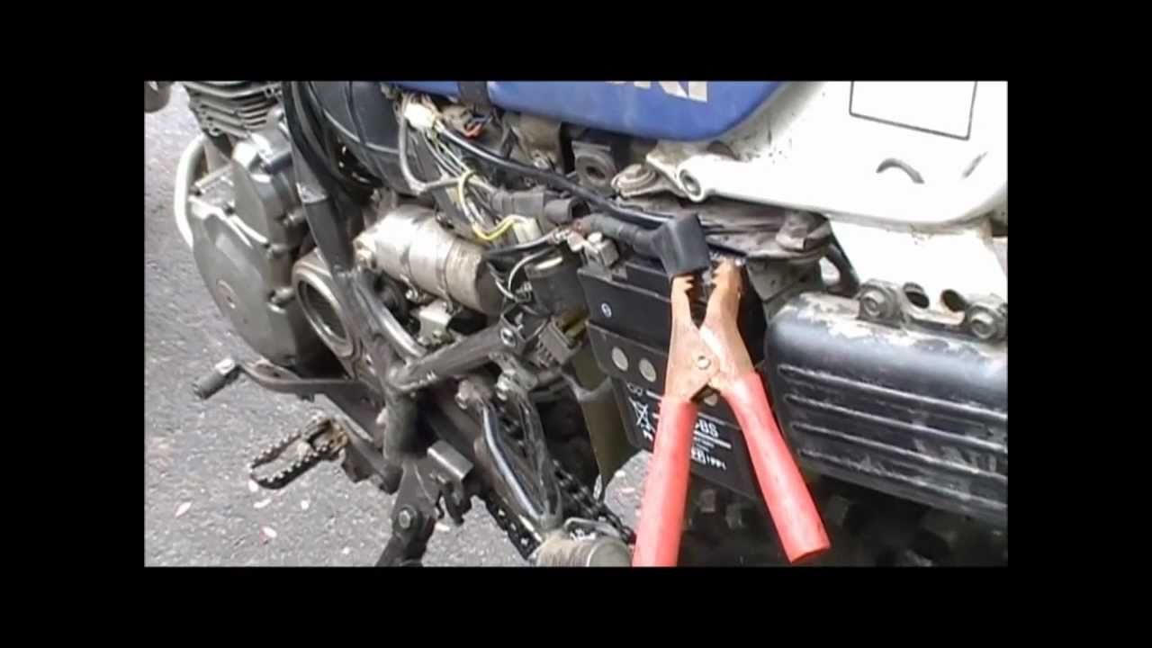 Jumpstart A Motorcycle With Car Battery