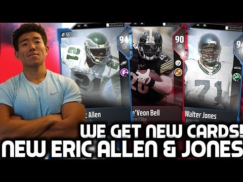 NEW ERIC ALLEN & WALTER JONES! Madden 18 Ultimate