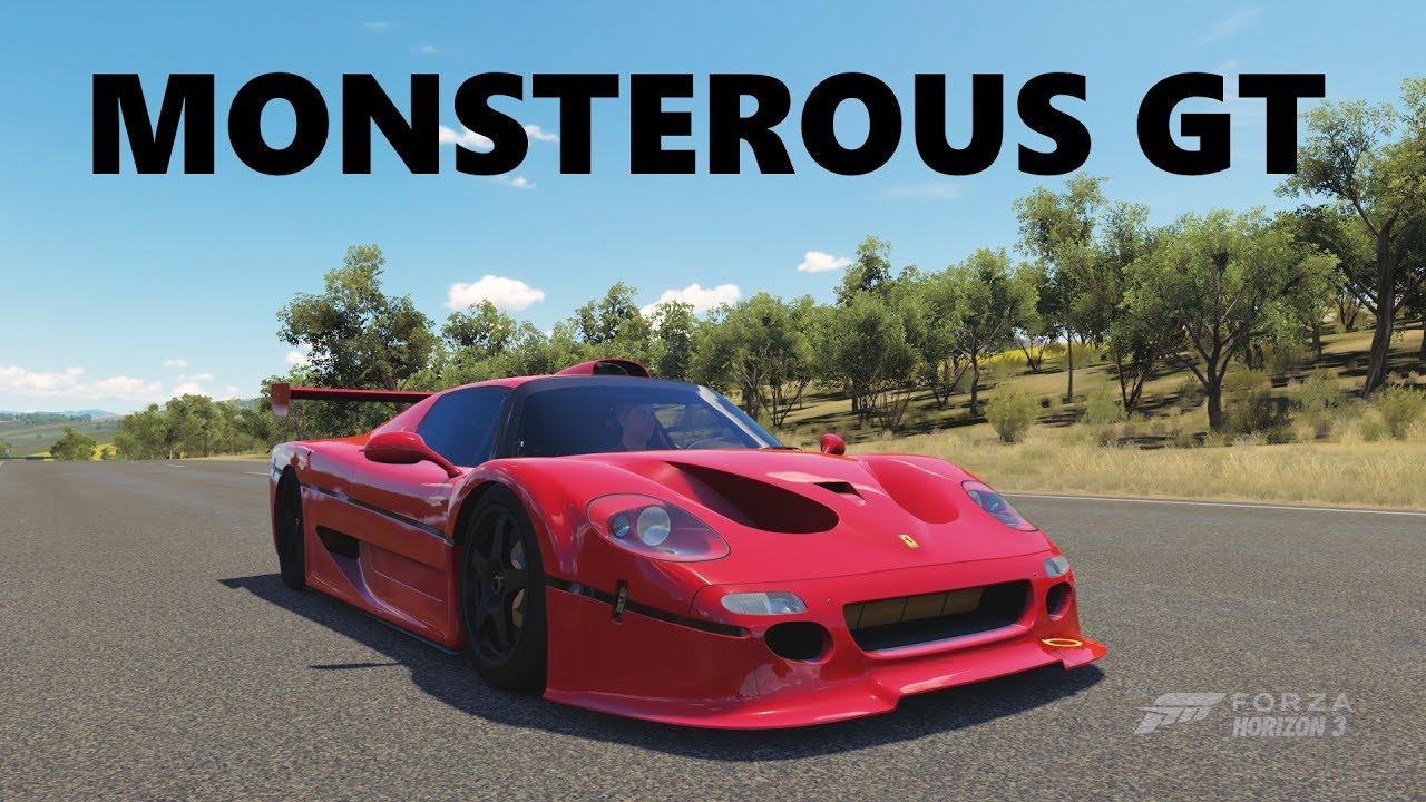 1996 Ferrari F50 Gt Top Speed Build Forza Horizon 3 Youtube