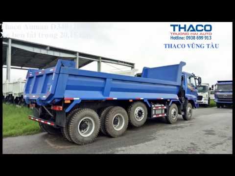 Thaco Auman D340 Xe ben 5 ch n 20 tn THACO VNG TU 0938699913