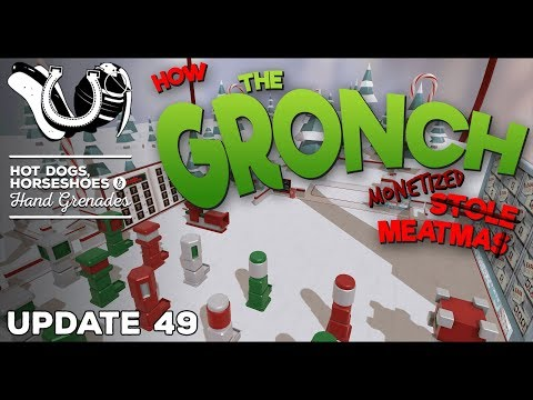H3VR Early Access Update #49: How The Gronch Monetized Meatmas! (plus Stens, M4 Shorty & More)