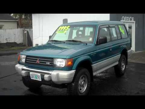 1995 Mitsubishi Montero Ls Sport Utility 4d Youtube