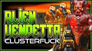 Demon Lord Arcradimus! | Alien Vendetta Map 10-11 | Complex Doom/LCA/Clusterfuck