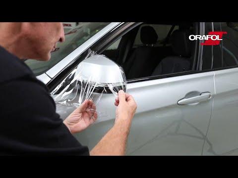 Бронирование автомобиля антигравийной пленкой Омск
