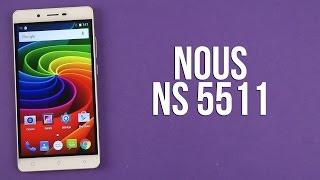 Розпакування Nous NS 5511 White-Gold