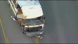 WILD CHASE: Woman with dogs on lap leads high-speed RV pursuit through San Fernando Valley   ABC7