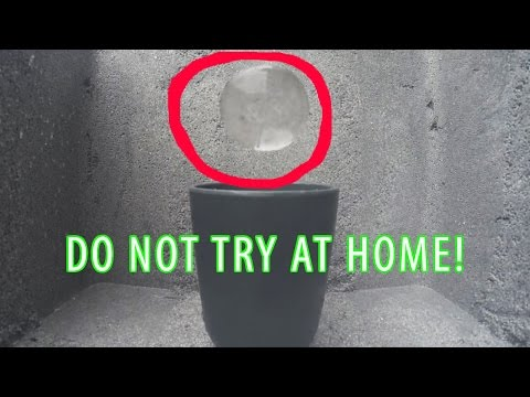 Science Experiment: Water in Zero Gravity