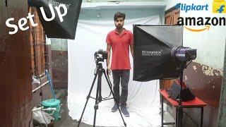 Photo Studio - Cost, Set-up & Sample Shoot