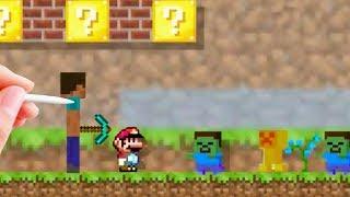 Minecraft Mod for Mario Maker  [Mario Maker Mod]