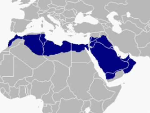 The arabic world map YouTube