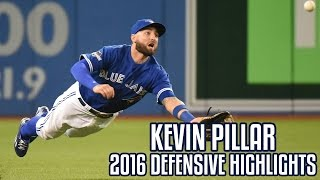 Kevin Pillar | 2016 Defensive Highlights
