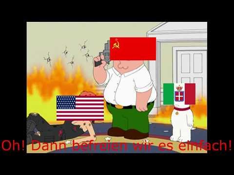 Family Guy WW2 Meme (Deutschland gegen USA)[Deutsch]