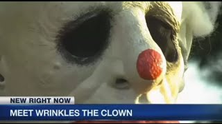wrinkles the clown interview