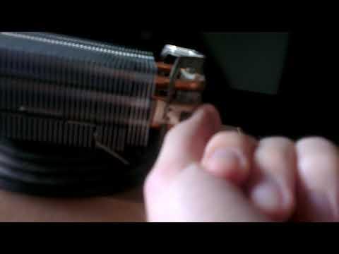 Как снять кулер с процессора на защелках амд