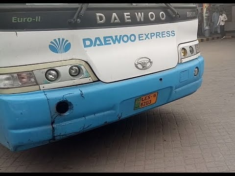 Daewoo Express bus Service Review