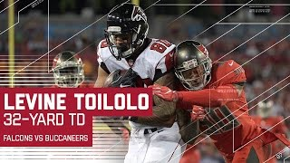 Matt Ryan finds Levine Toilolo for 32-yard Touchdown | Falcons vs. Buccaneers | NFL
